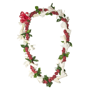He'e and Tuberose Twist Lei