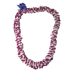 Orchid Angel Lei (Purple)