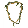 Ti Leaf Lei with a Twist of Kukunaokala