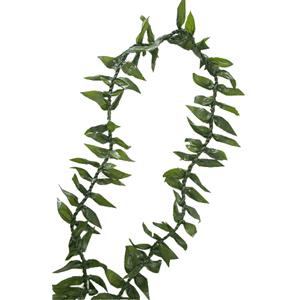 Ti Leaf Lei (Maile Style)